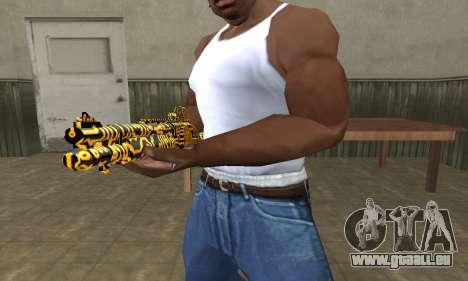 Microshem Shotgun pour GTA San Andreas deuxième écran
