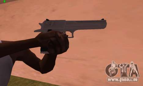 Deagle from Battlefield Hardline pour GTA San Andreas