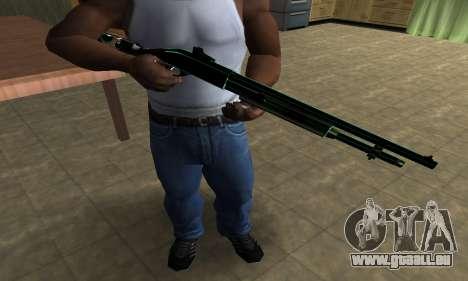Green Guy Shotgun pour GTA San Andreas