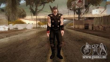 Thor Custom Skin für GTA San Andreas zweiten Screenshot