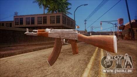 AK-47 v6 from Battlefield Hardline pour GTA San Andreas deuxième écran