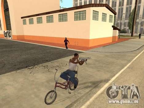 Manual Driveby pour GTA San Andreas troisième écran