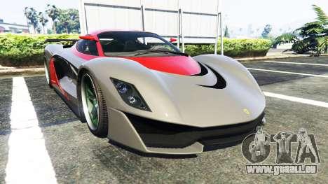 Grotti Turismo R La Ferrari pour GTA 5