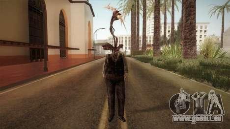 RE4 Don Hose Plagas pour GTA San Andreas deuxième écran