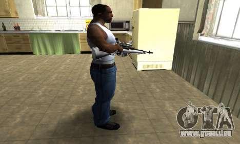 Silver Sniper Rifle für GTA San Andreas dritten Screenshot