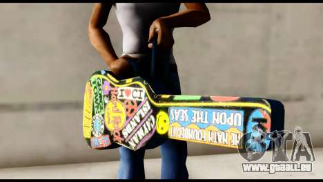 Guitar Case MG Colorful für GTA San Andreas dritten Screenshot