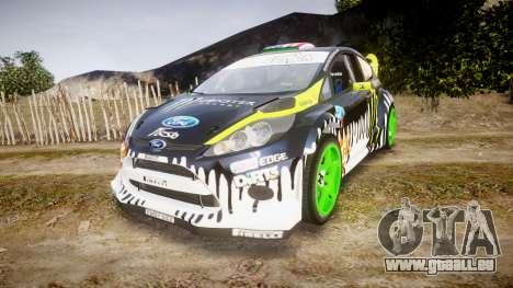 Ford Fiesta Gymkhana 3 Ken Block pour GTA 4