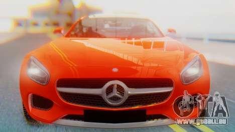 Mercedes-Benz SLS AMG GT für GTA San Andreas Rückansicht