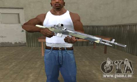 Military Rifle für GTA San Andreas