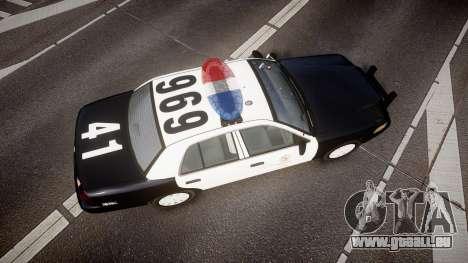 Ford Crown Victoria 2011 LAPD [ELS] rims1 pour GTA 4 est un droit