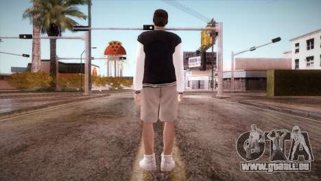 Jimmy Silverman pour GTA San Andreas troisième écran