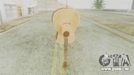 Red Dead Redemption Guitar pour GTA San Andreas