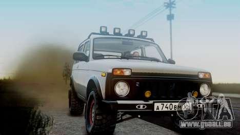VAZ 2121 Niva 4x4 für GTA San Andreas Rückansicht