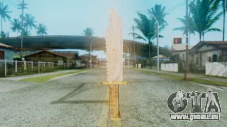 Red Dead Redemption Knife pour GTA San Andreas