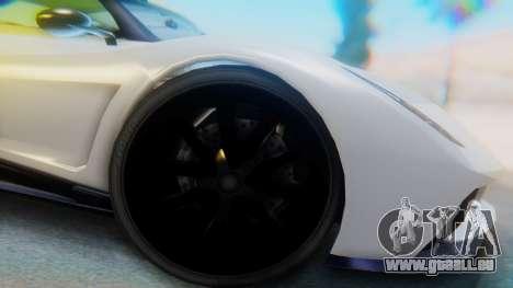 GTA 5 Pegassi Osiris IVF pour GTA San Andreas vue arrière
