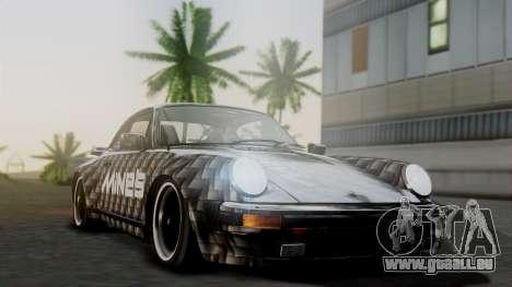 Porsche 911 Turbo (930) 1985 Kit A pour GTA San Andreas vue de côté
