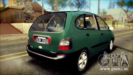 Renault Megane Scenic pour GTA San Andreas laissé vue