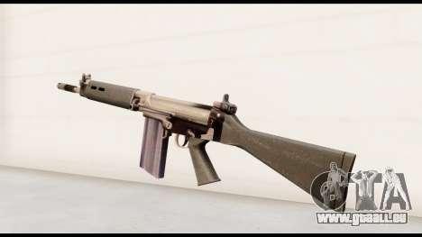 FN-FAL für GTA San Andreas zweiten Screenshot