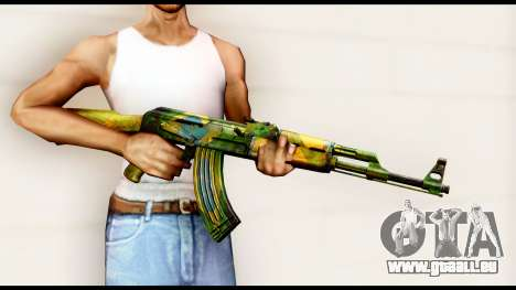 Brasileiro AK-47 pour GTA San Andreas troisième écran