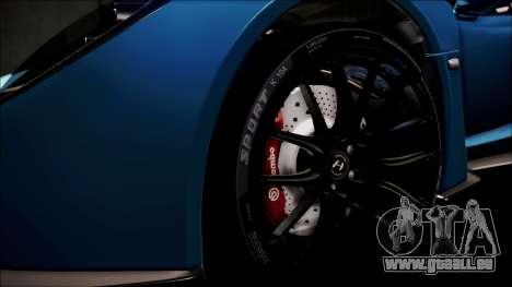 Hennessey Venom GT 2012 U.S.A American pour GTA San Andreas vue de côté
