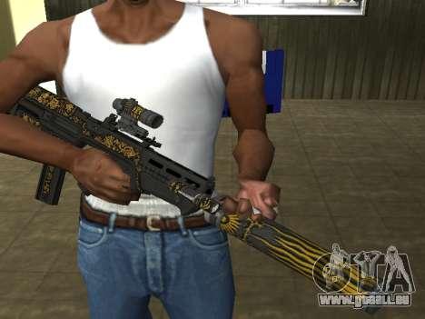 GTA 5 M4 pour GTA San Andreas