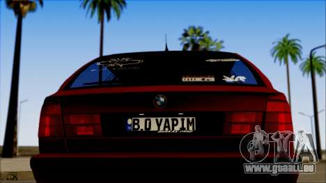 BMW M5 Touring E34 für GTA San Andreas rechten Ansicht