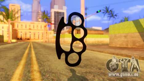 Atmosphere Brass Knuckle für GTA San Andreas zweiten Screenshot