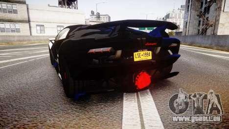 Lamborghini Sesto Elemento 2011 pour GTA 4 Vue arrière de la gauche