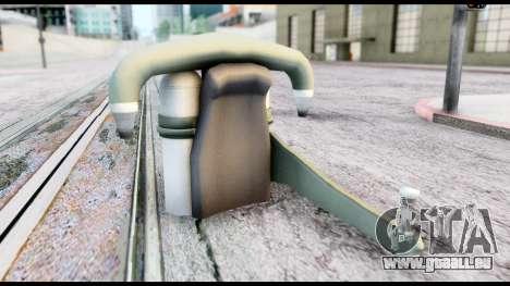 New SA Jetpack pour GTA San Andreas deuxième écran