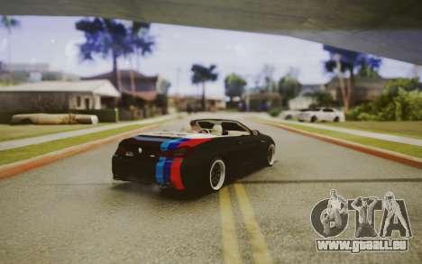 BMW M6 Cabrio pour GTA San Andreas laissé vue