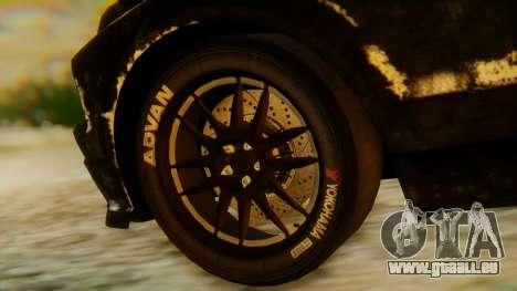 Shelby GT500 Death Race für GTA San Andreas rechten Ansicht
