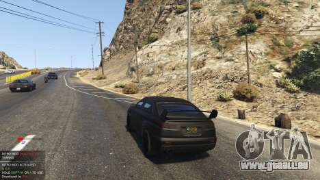 GTA 5 Nitro Mod (Xbox Joystick support) 0.7 dritten Screenshot