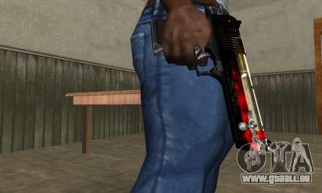 Totenkopf Deagle für GTA San Andreas