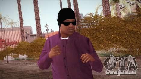HD ballas3 Retextured pour GTA San Andreas