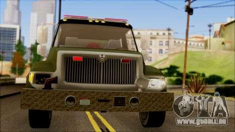 SANG Combat Rescue International pour GTA San Andreas vue intérieure