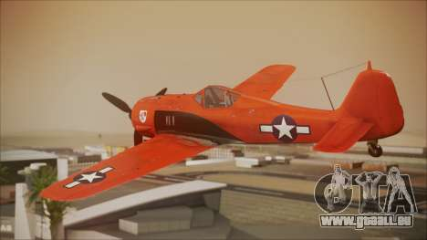 FW-190 A-8 US Air Force für GTA San Andreas linke Ansicht
