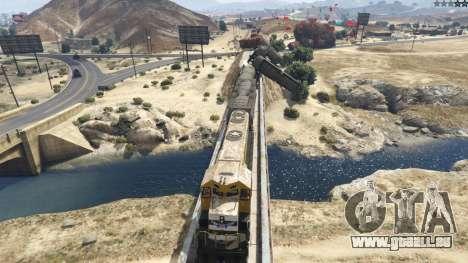 GTA 5 Improved freight train 3.8 cinquième capture d'écran