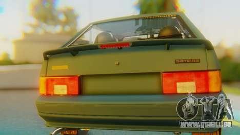 VAZ 2113 Stoke für GTA San Andreas Innenansicht