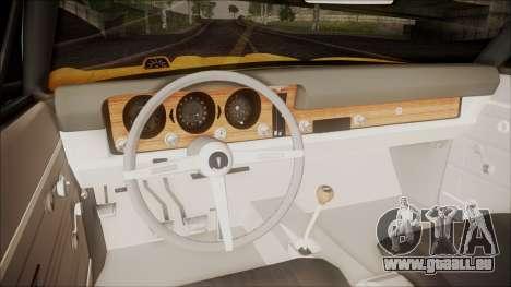 Pontiac GTO 1968 pour GTA San Andreas vue arrière