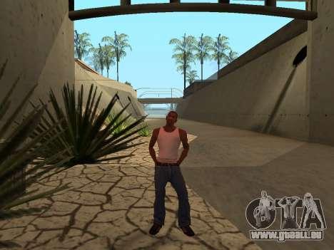 Ped.ifp Animation Gopnik pour GTA San Andreas troisième écran