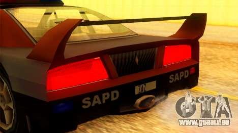 Police Turismo für GTA San Andreas rechten Ansicht
