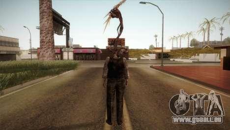 RE4 Don Hose Plagas pour GTA San Andreas troisième écran