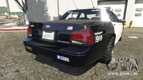 GTA 5 Los Angeles Police and Sheriff v3.6 troisième capture d'écran