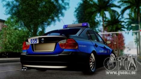 BMW 330i E46 YPX für GTA San Andreas linke Ansicht