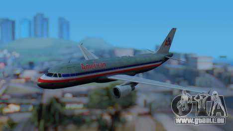 Airbus A320-200 American Airlines (Old Livery) pour GTA San Andreas