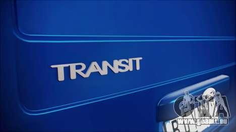 B. O. Ford Transit Bau für GTA San Andreas Rückansicht