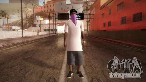 East Side Ballas Member für GTA San Andreas zweiten Screenshot