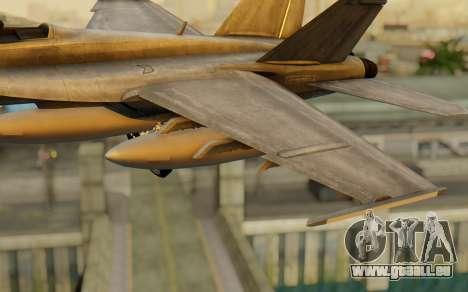 FA-18F Super Hornet BF4 für GTA San Andreas rechten Ansicht