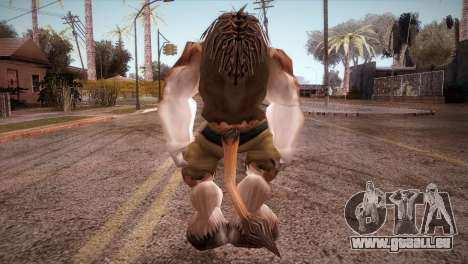Le Tauren pour GTA San Andreas troisième écran