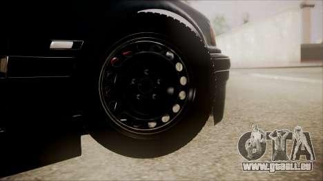 BMW M5 E36 pour GTA San Andreas sur la vue arrière gauche